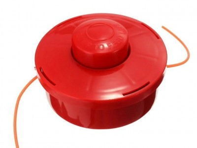 Катушка лески (красная) дешёвая мотокоса