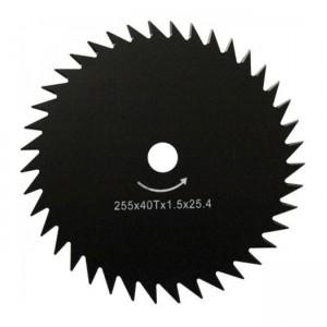 Нож металл 255х25,4х1,4мм, 40 зубов мотокоса